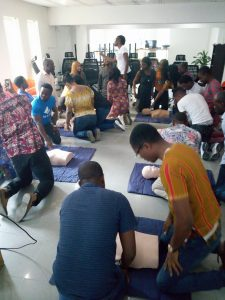 CPR & AED use in Lagos